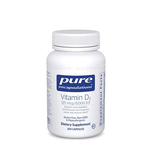 Vitamin D3 125 mcg (5,000 IU) 250's