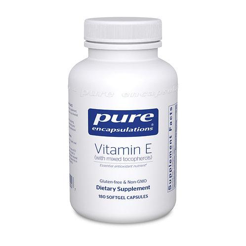 Vitamin E (with mixed tocopherols) 180's