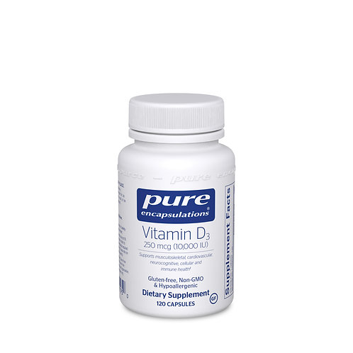 Vitamin D3 250 mcg (10,000 IU) 120's