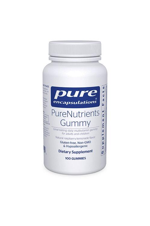 PureNutrients Gummy 100's  (natural raspberry-lemonade flavor)