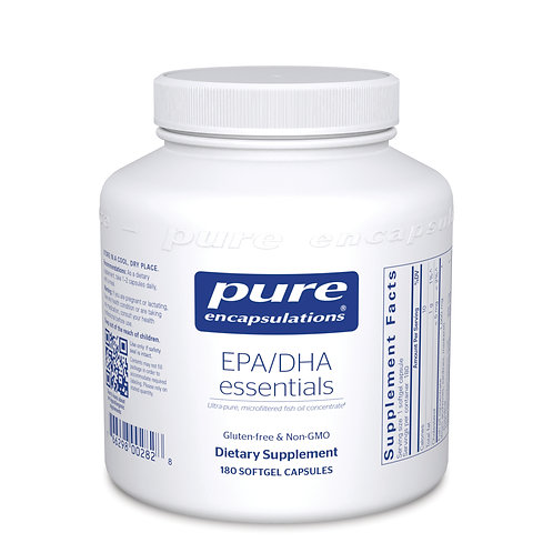 EPA/DHA essentials 1,000 mg. 180's