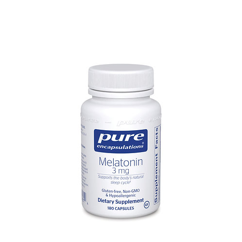 Melatonin 3 mg. 180's