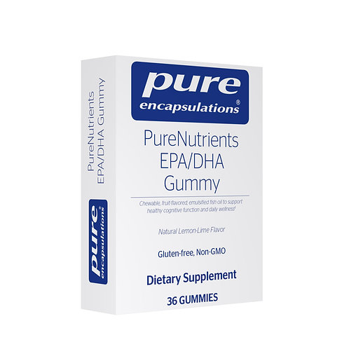 PureNutrients EPA/DHA Gummy (natural lemon-lime flavor)