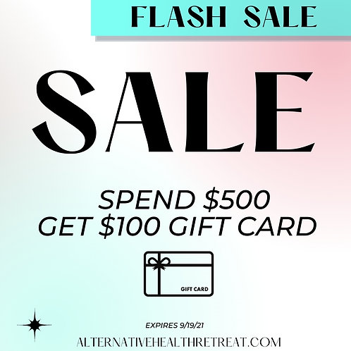 $600 GIFT CARD for $500