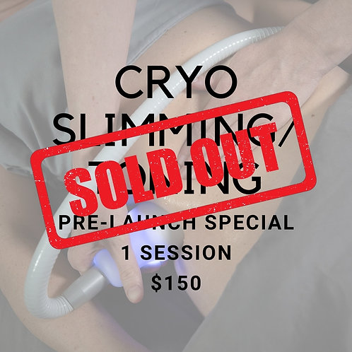 CryoSkin Slimming/Toning Pre-Launch Special