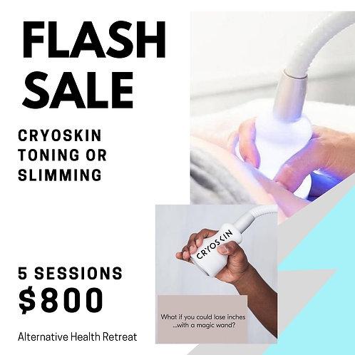 5 CryoSkin Toning/Slimming Sessions
