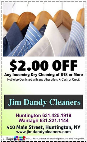 Jim Dandy Cleaners Coupon