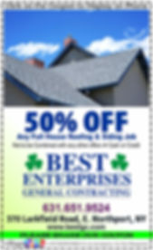 Best Enterprises General Contracting Coupon