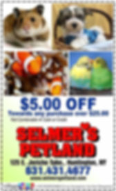 Selmer's Petland Coupon