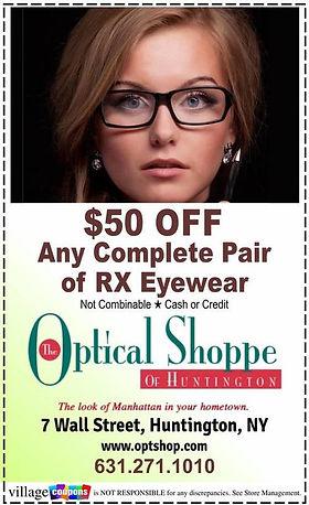 Optical Shoppe of Huntington Coupon