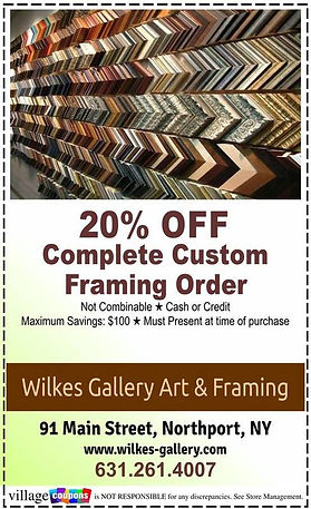 Wilkes Gallery Art and Framing Coupon