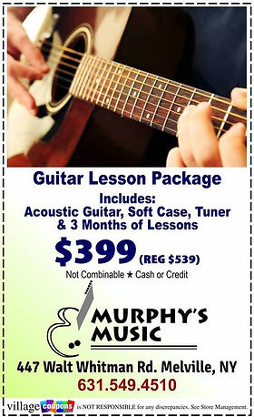 Murphys Music Coupon
