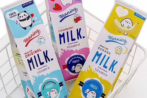 Milk Carton Pencil Case