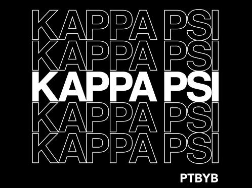 Kappa Psi Plastic Bag Shirt