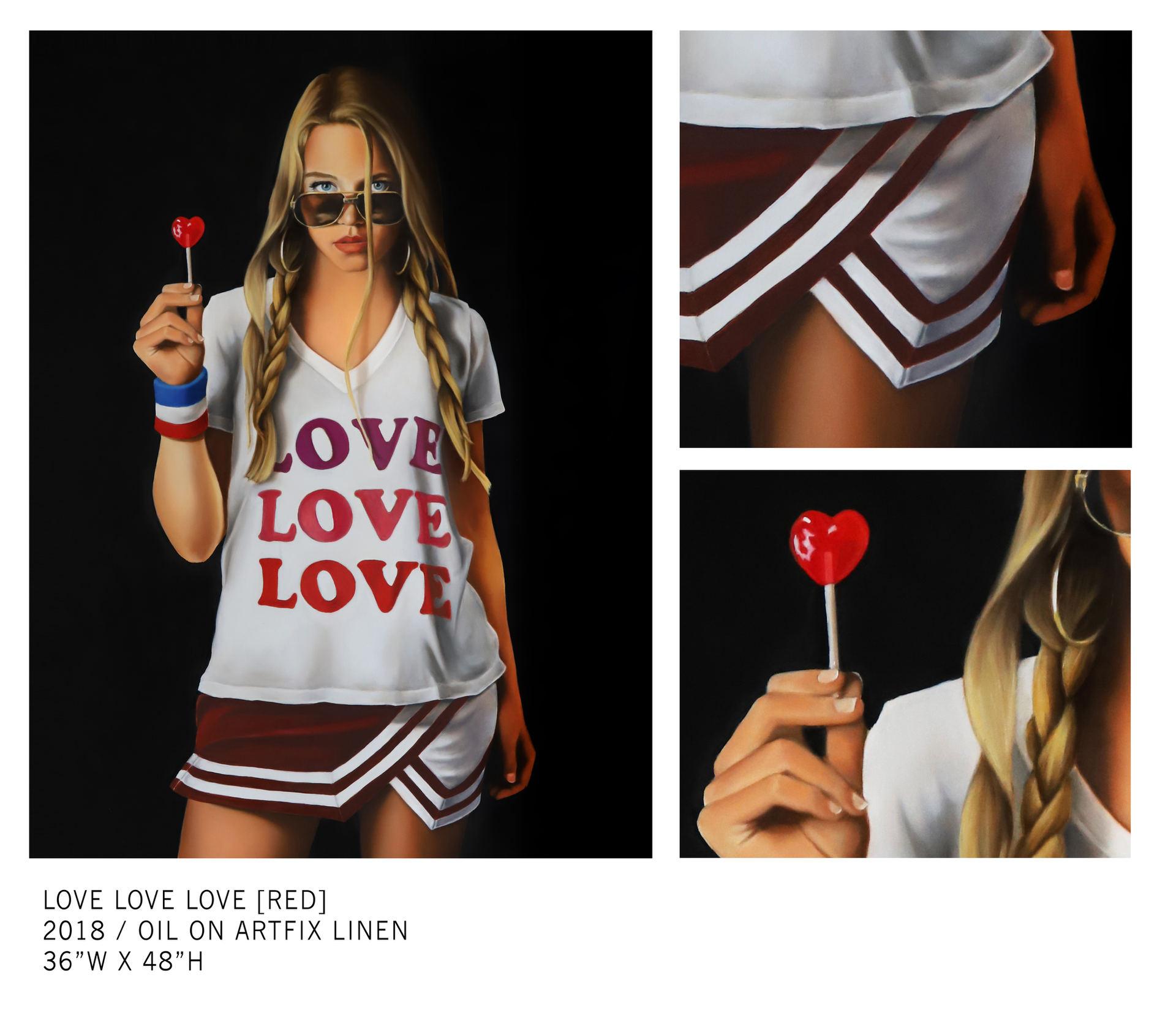 LOVE LOVE LOVE [RED]