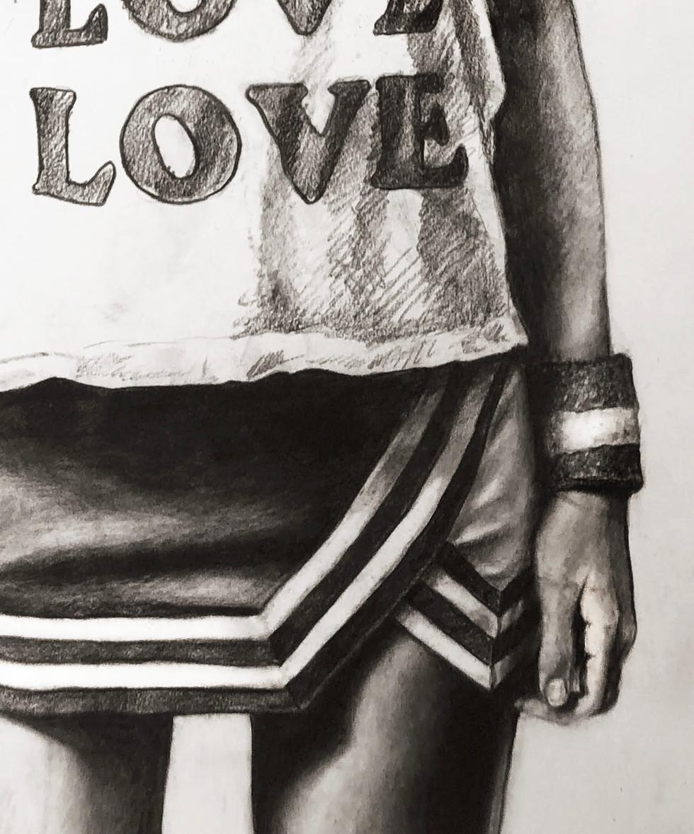 detail, LOVE LOVE LOVE (BUBBLE)