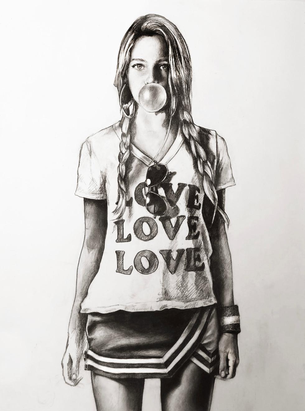 LOVE LOVE LOVE (BUBBLE)