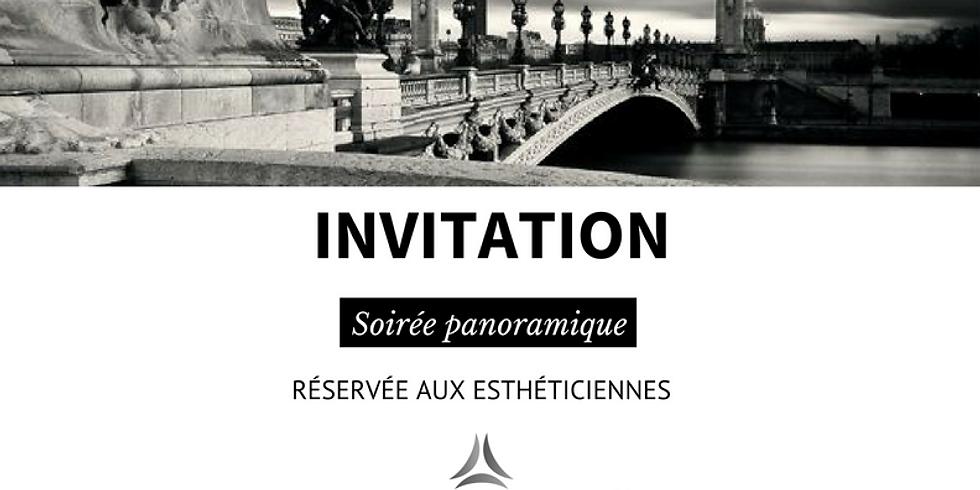 Soirée panoramique réservée aux esthéticiennes - Dimanche 8 Avril 2018