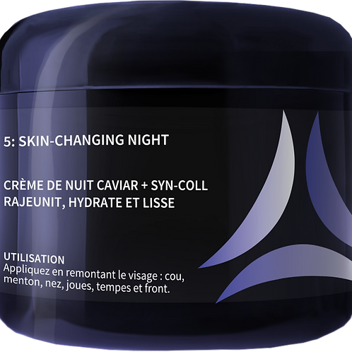 SKIN-CHANGING NIGHT CABINE