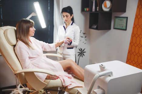 Лазерная эпиляция и удаление волос в Новом Уренгое студия депиляции Lasernur