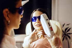 Лазерная эпиляция зон лица Лазернур Lasernur Новый Уренгой