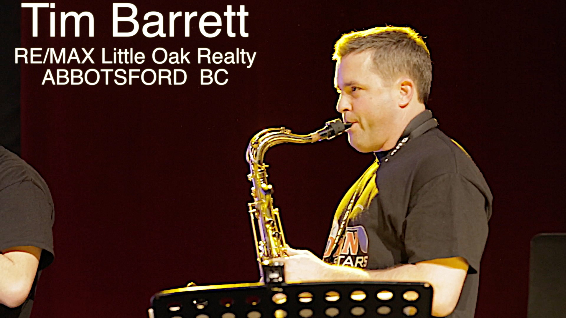 Tim Barrett   Tenor Sax