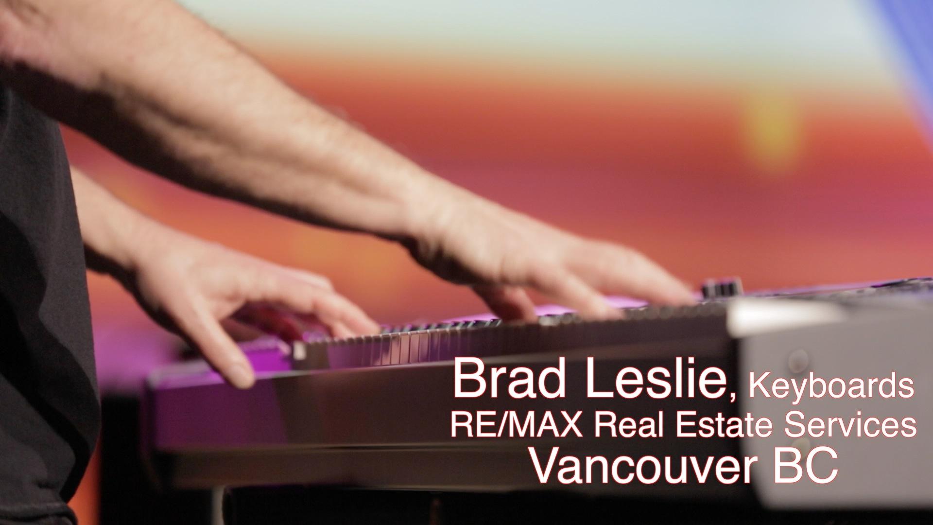 Brad Leslie  Keyboards