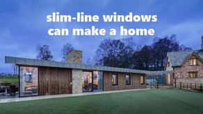 Slim-line windows and glass doors can transform the design of a new house