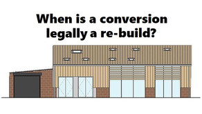 Converting some agricultural buildings into homes is allowed but ...