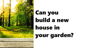 You might be surprised by what you can build in your garden