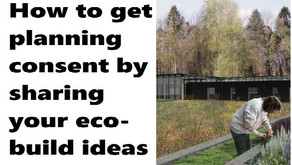 Eco-info sharing and exceptional design key to getting planning consent in open country-side