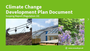 Council consultation on climate change planning policies ends
