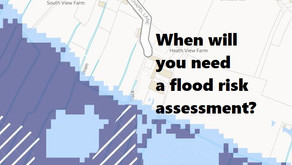 4 situations when you will need a flood risk assessment