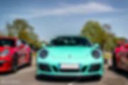 Porsch'Color - Porsche 911 991.2 Carrera GTS 4 Cabrio Vert Mentis