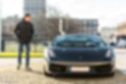 Lamborghini gallardo spyder Cars and Coffee ® Normandie Marius Hanin