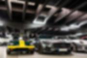 Lotus Elan / Mercedes AMG GT S