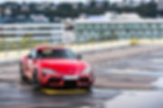 French Driver Toyota GR Supra Marius Hanin