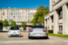Porsche 911 996 Carrera Cabrio & Abarth 500 Cars and Coffee ® Normandie Marius Hanin