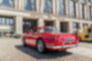 Triumph TR4 Cars and Coffee ® Normandie Marius Hanin
