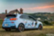 Théo &Hyundai i30N First Edition Marius Hanin