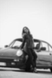 Melody et la Porsche 911 Carrera