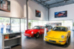 Porsche 911 964 Carrera RS - 70 ans Porsche - Centre Porsche Rouen - Marius Hanin