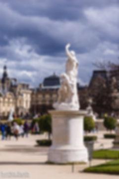 Paris Palais Royal Louvre Tuilerie Jardin
