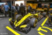 Renault RS18 F1 Marius Hanin