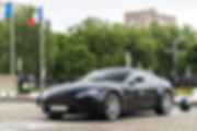 Cars and Coffee ® Normandie - Aston Martin V8 Vantage