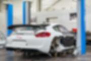 Centre Porsche Rouen - Porsche Cayman GT4 Clubsport Marius Hanin