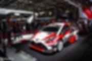Toyota Yaris WRC Marius Hanin