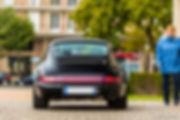 Cars and Coffee ® Normandie - Porsche 911 964 Carrera 4