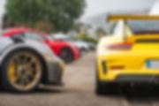 Marius Hanin French Driver Motor1 Porsche Casting Club Normandie Porsche 911 991 GT3 RS Pack Weissach