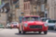 Marius Hanin French Driver Motor1 Tour Auto Peter auto Mercedes 190 SL